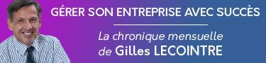 La chronique mensuelle de Gilles Lecointre